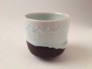 chocolate frost tea bowl